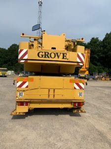 grue GROVE GMK 3050 occasion
