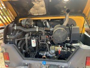 moteur pelle sur pneus d'occasion Mecalac 12MTX