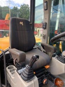 siège pelle sur pneus d'occasion Mecalac 12MTX