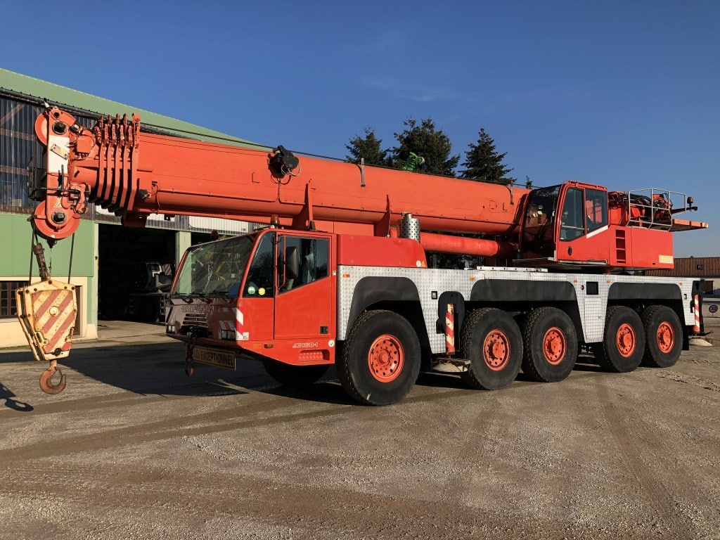 demag ac160-1 grue mobile occasion