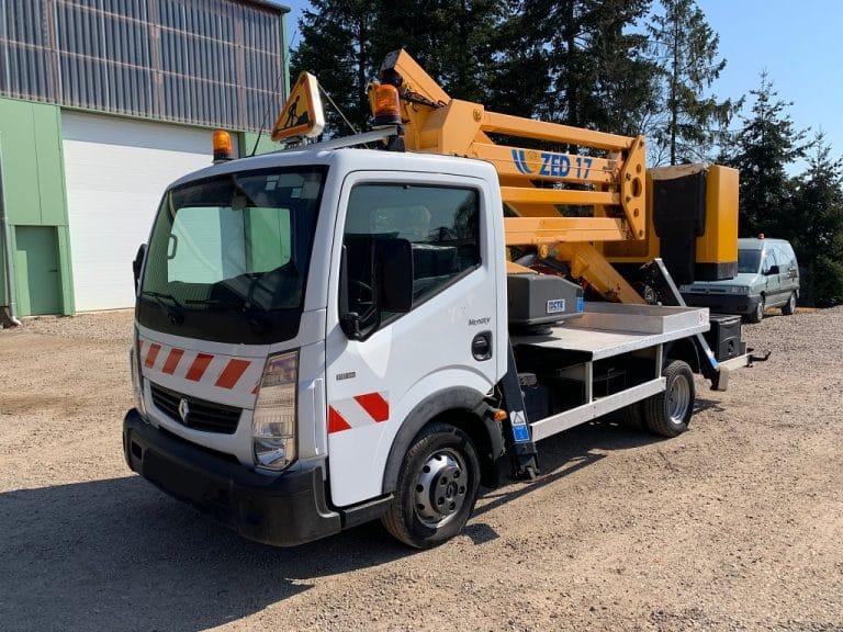 CTE ZED17 sur Renault