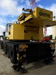 Grove GMK 6220L - Grue mobile Grove d'occasion