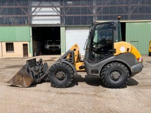 chargeuse occasion mecalac ax700 travaux hercule