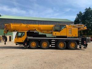 Liebherr LTM 1090-4.1 - Grue mobile Liebherr d'occasion